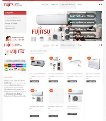 fujitsu klima mağazası